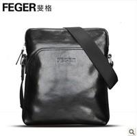 Hot selling vintage genuine leathe brief male  messenger bag elegant cowhide leather casual men's shoulder bag / free shipping