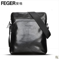 Hot selling vintage genuine leathe brief male  messenger bag elegant cowhide leather casual men's shoulder bag / free shipping