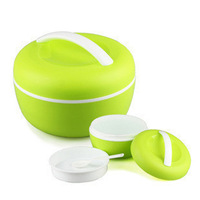 Free Shipping for Apple Double Take Teaspoons of Microwave Lunch Box Insulated Lunchbox Portable Bento Boxes A Bl718 Instead ##