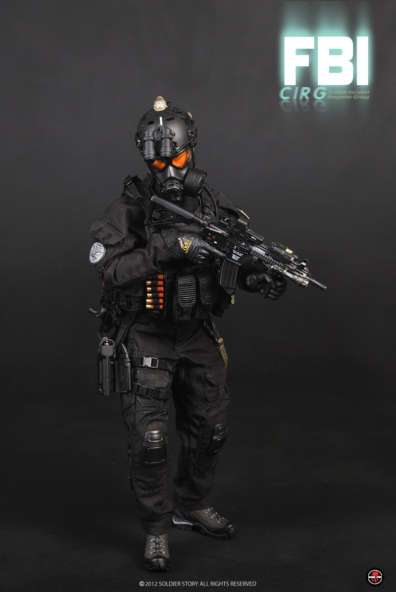 Soldier story SS062 1/6 scale Action Figure Collection US FBI CIRG critical incident response group(China (Mainland))