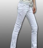 Free shipping Women's cotton jeans pencil pants female trousers Four Seasons models low-waist pants feet casual pants