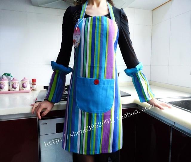 Fashion aprons work wear princess canvas apron set(China (Mainland))