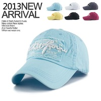 New arrival 2013 hat female casual baseball cap summer outdoor street 100% cotton sun hat