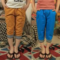 Children's clothing child casual pants capris male child summer 2013 child