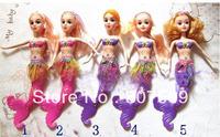 figure action toys 2013 hot sale 30 cm Fashion Dolls The little mermaid 10pcs/ lot