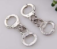 100pcs Tibet silver Handcuffs charms 32x11mm (3564)