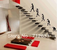 human evolution huge Removable Wall Stickers Kids Nursery Vinyl Decals wall sticker decal mural decor 8510556