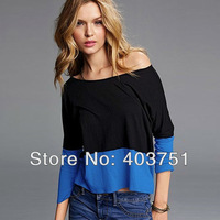 Women's Cotton Casual Long Sleeve Blouse TEE Size M-L + Free Shiping