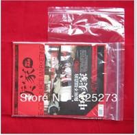 Free Shipping 200Pcs Self Sealing Zip Lock Plastic Bags 22*32 cm*0.05mm