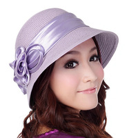 Strawhat women's hat summer fashion beach cap hat gentlewomen cap 620