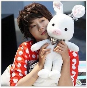 Scaphotrapezial plush toy pig rabbit plush rabbit Large pig girls christmas day gift(China (Mainland))