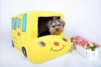 Dog Bed Bus Car House Dog House Pet Nest Foldable Dual Car Kennel Pet Products Cat Litter Pets Bed Cat Bed Cat House 1PCS/LOT