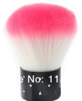 2pcs/set New Make Up Rhinestone Blush Powder Brush Face Makeup Nails Cosmetic Tool