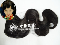 Costume wig style wig style wig cheongsam wig evening dress wig fringe