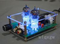 6J1 x2 HiFi stereo tube valve Preamp Preamplifier amplifier inclu PSU 110V/220V
