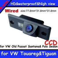 "FOR VW Touareg&Tiguan&Old Passat Santana&Polo Sedan CCD car backup  night vision HD CCD 1/3"" waterproof night vision 0.05lux"