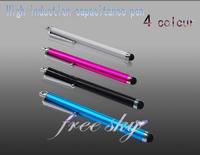 Stylus for iphone 5 4 4S JIAYU G2 G3  W732 G3C G4C Ipod Touch5 Nano 7 Pen Stylus Pen for Mobile Phone Tablet PC capacitance pen