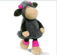 NICI Lovely Gray Sheep Medium Cotton Plash Doll Toy Gift 35 cm