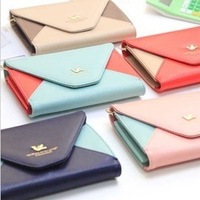 2013 women's wallet sweet vintage women's wallet long design fashion small fresh