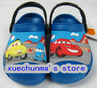 100% Auth New Unisex Kids Summer Shoes Clog Car Series Boys and Girls Slippers Size C6/7-C12-13