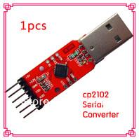 1pcs/lot CP2102 Serial Converter USB To TTL UART 6PIN Module usb to TXD RXD for arduino STC PRGMR