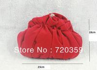 Free shipping! Evening Bag ,  , Bride Bag Purse ,  chamois leather,Handbag Wedding , Woman Bag