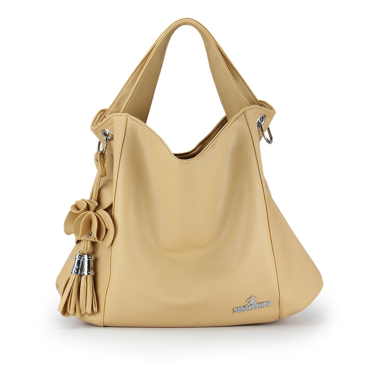 2013 women's handbag brief tassel flower one shoulder handbag messenger bag women's bag female bags