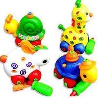 free shipping,Disassembling small animal with tools, giraffe snail tortoise rabbit children's educational toys