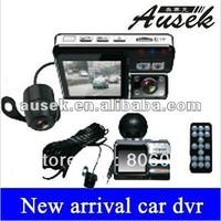 HD720p Dual lens dashboard Car vehicle Camera Video Recorder DVR CAM