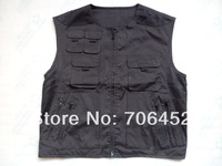 TOP QUALITY fly fishing vest, fishing jackets ,fishing vest, L size+fast shipment