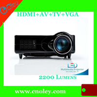 2200 lumens led projector for home theater,16:9 HDMI 1080p made in china