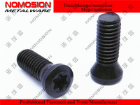screws M3.5-0.5*8-60/T15-5.3mm-BK hand 5.2  black  100pcs/bag  bolt Torx cutting tools