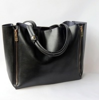 promotion on sell 2013 bags genuine leather handbag cabas portable one shoulder cowhide High quality +freeshipping