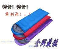 Sleeping bag envelope cap sleeping bag outdoor camping sleeping bag spring and autumn