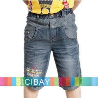 Sale Free Shipping New Kids Trousers Boy Summer Jeans Shorts,Children Wear K0830