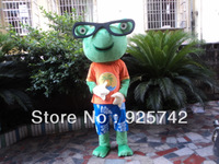 High quality Kermit Frog Mascot Costume, party costumes,cartoon character costumes,carnival costumes