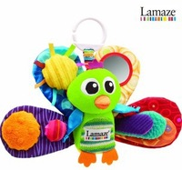 wholesale 5pcs/lot Lamaze Early Development Stuffed Play & Grow jacques the peacock Baby Toys