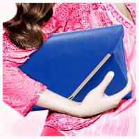 Fashion women's handbag clutch bag 2013 free shipping messenger small bags day clutch envelope bags