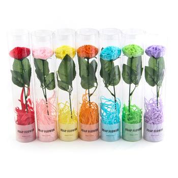 Rose soap flower novelty small gift birthday gift schoolgirl wedding supplies