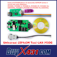 2013 Newly Universal EEPROM Tool Memories Chip Programmer CAR PROG for all M35080 and CAS4(1L15Y) MC9S12XDP512 + HKP Free