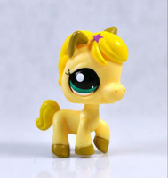 Littlest Pet Shop Collection Horse Child Girl Figure Horse Cute Toy Loose