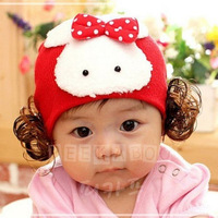 Hiplay autumn and winter hat child cotton cap rabbit hat ear protector cap