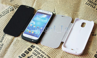 3200mah Power bankup case Emergency charger for Samsung S4 Galaxy I9500 drop shipping