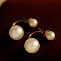 Sunshine jewelry store fashion exquisite pearl earrings for women e419 (min order $10 mixed order)