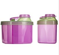 Powdered Formula Dispenser Combo Pack healthy material not contain BPA Baby food storage boxes