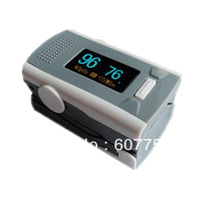 Color OLED Fingertip Pulse Oximeter with Alarm Setting and Beep Sound
