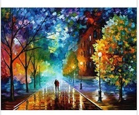 Frameless Diy digital oil painting paint by number kits acrylic painting abstract painting 40 50   g214 unique gift home decor