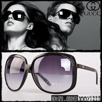 2013 new arrival sun glasses fashion women's large sunglasses glasses large driving mirror sunglasses