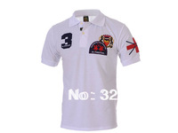 2014 BRAND NEW Real Madrid men's Fashion Short Sleeve Tee Race Breathable Cotton T Shirts,Embroidry Wholesale, Free Shipping
