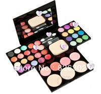 ADS color eyeshadow lipstick blusher powder puff brush Pen Tool Make Up kit Free Shipping Drop Shipping